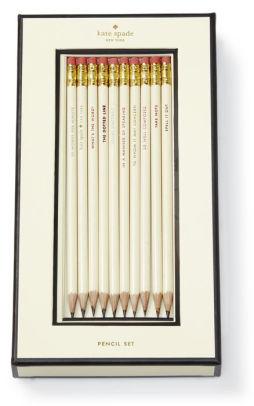 Kate Spade New York Quotes Pencil Set - Set of 10