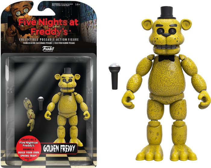 5 Articulated Action Figure Five Nights At Freddys