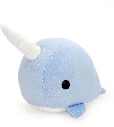 bellzi blue narwhal stuffed