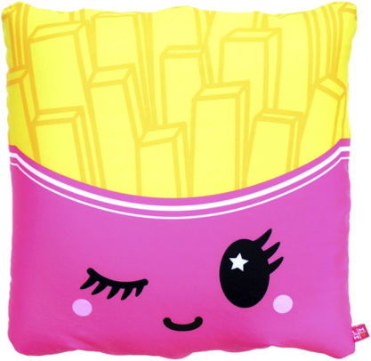 little missmatched french fry 3 in 1 convertible pillow