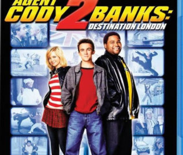 Agent Cody Banks 2 Destination London By Kevin Allen Frankie Muniz Anthony Anderson Hannah Spearritt 887090121712 Blu Ray Barnes Noble