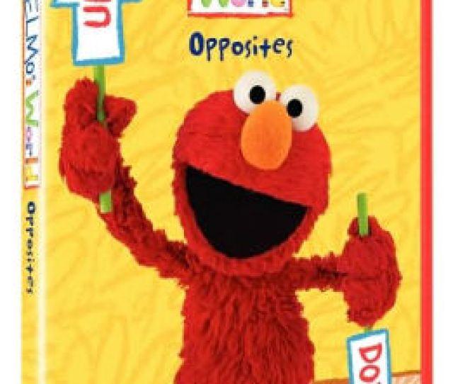 Sesame Street Elmos World Opposites
