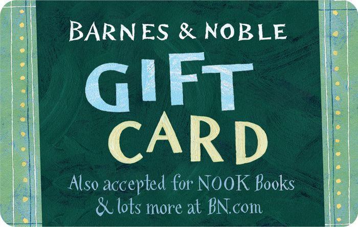 barnes noble green gift card 2000003505180 item barnes noble