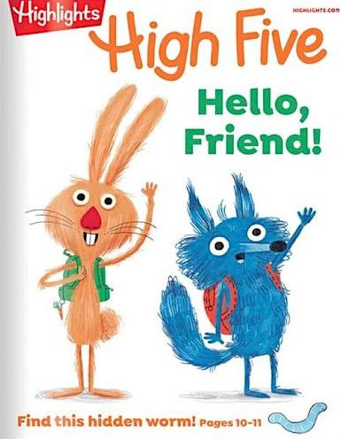 Highlights High Five - One Year Subscription | 2000003960958 | Print Magazine | Barnes & Noble®