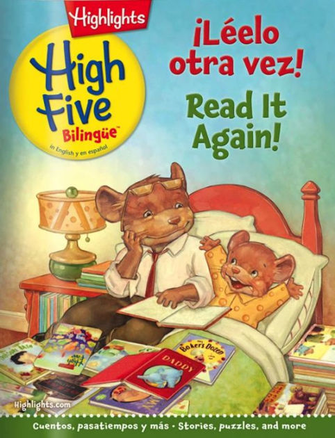 Highlights High Five Bilingue - One Year Subscription | Print Magazine Subscription | Barnes & Noble®