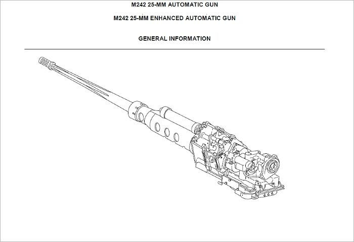 TECHNICAL MANUAL FOR GUN, AUTOMATIC: 25-MM, M242 W