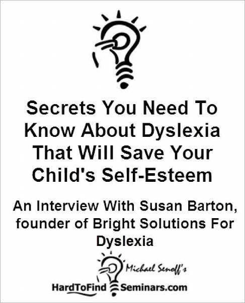 Secrets You Need To Know About Dyslexia That Will Save