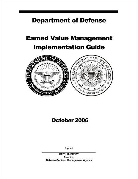 Department of Defense Earned Value Management EVM