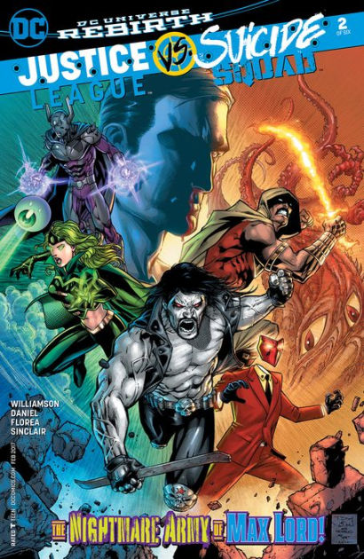 Justice League Vs Suicide Squad : justice, league, suicide, squad, Justice, League, Suicide, Squad, (2016-), (NOOK, Comics, View), Joshua, Williamson,, Jason, Fabok, (eBook), Barnes, Noble®