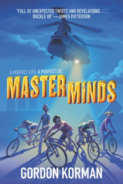 Image result for Masterminds by Gordon Korman