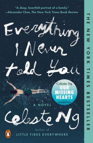 book cover: Everything I Never Told You