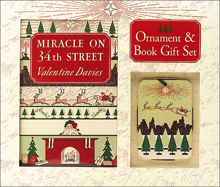 Miracle On 34th Street Gift Set Ornament Amp Book By