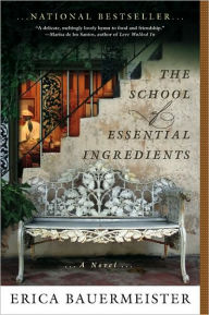 book cover for The School of Essential Ingredients