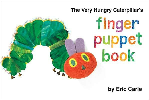 Caterpillar Cover Book Hungry