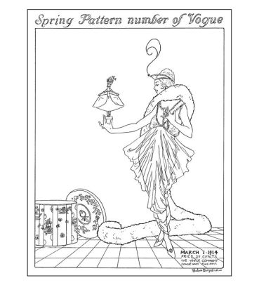 Vogue Colors A to Z: A Fashion Coloring Book by Valerie