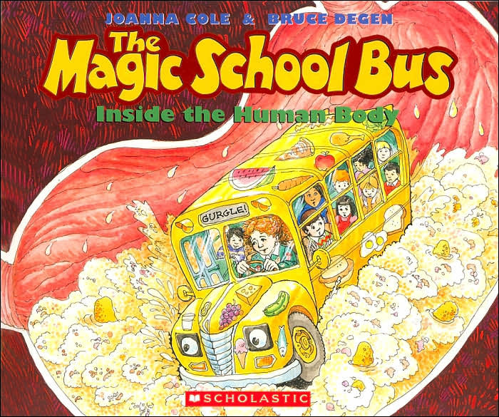 Image result for the magic school bus books