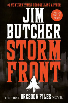 First Dresden Files Book : first, dresden, files, Storm, Front, (Dresden, Files, Series, Butcher,, Paperback, Barnes, Noble®