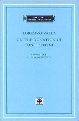Barnes And Noble Donation Request : barnes, noble, donation, request, Donation, Constantine, Lorenzo, Valla,, Hardcover, Barnes, Noble®