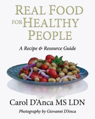 book cover for Real Food for Healthy People