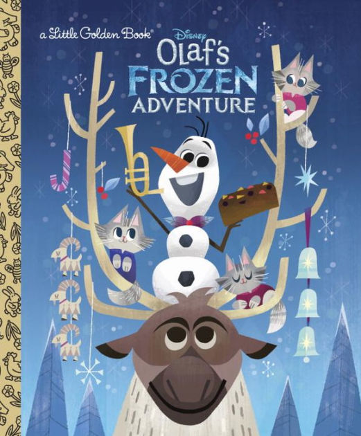 Olafs Frozen Adventure Little Golden Book Disney Frozen