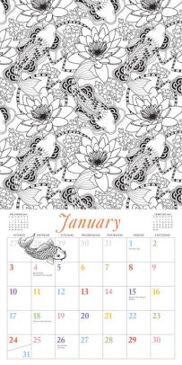 2016 Color Your Year: Mindful Coloring through the Seasons
