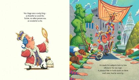 King Hugo's Huge Ego by Chris Van Dusen. Hardcover   Barnes & Noble®
