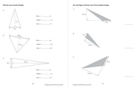 Singapore Math Practice, Level 5A by Frank Schaffer