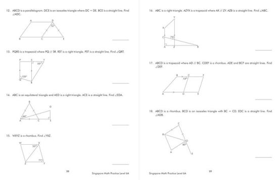 Singapore Math Practice, Level 6A by Frank Schaffer