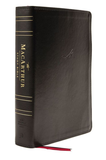 Barnes And Noble Macarthur : barnes, noble, macarthur, NASB,, MacArthur, Study, Bible,, Edition,, Leathersoft,, Black,, Thumb, Indexed,, Comfort, Print:, Unleashing, God's, Truth, Verse, Thomas, Nelson,, Hardcover, Barnes, Noble®