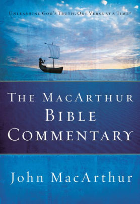 Barnes And Noble Macarthur : barnes, noble, macarthur, MacArthur, Bible, Commentary, MacArthur,, Hardcover, Barnes, Noble
