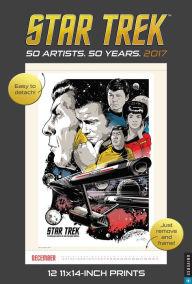2017 Star Trek Poster Wall Calendar