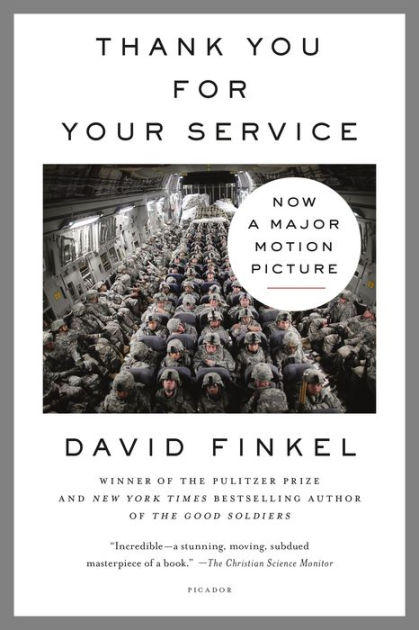 Thank You for Your Service by David Finkel, Hardcover