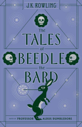 The Tales Of Beedle The Bard : tales, beedle, Tales, Beedle, (Harry, Potter, Series), Rowling,, Hardcover, Barnes, Noble®