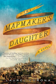 book cover for The Mapmaker's Daughter
