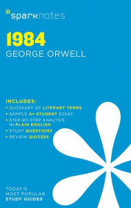 1984 SparkNotes Literature Guide Series by SparkNotes
