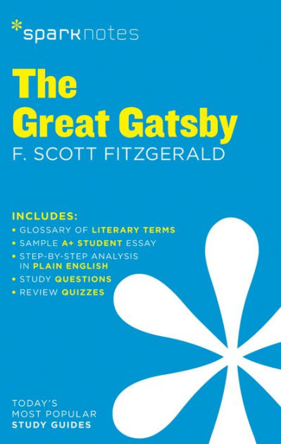 The Great Gatsby SparkNotes Literature Guide Series by