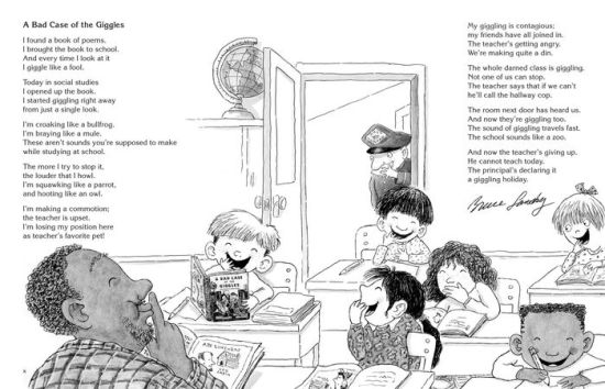 A Bad Case of the Giggles (Kids' Favorite Funny Poems) by