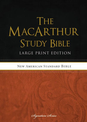 Barnes And Noble Macarthur : barnes, noble, macarthur, MacArthur, Study, Bible, Large, Print, Thomas, Nelson,, Hardcover, Barnes, Noble®