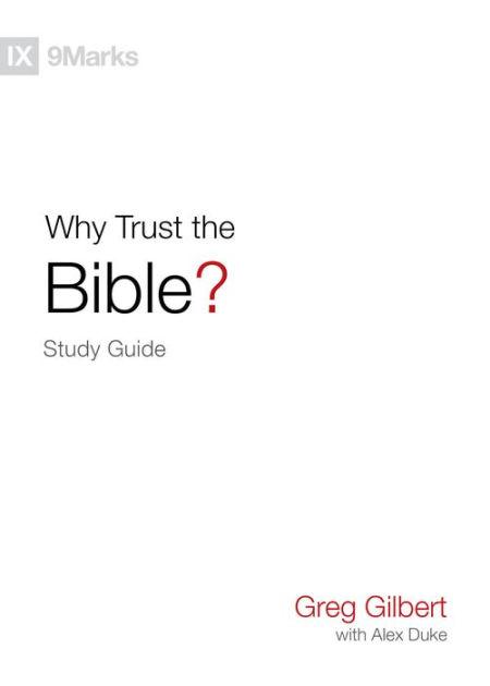 Circle Of Trust Greg : circle, trust, Trust, Bible?, Study, Guide, Gilbert,, Paperback, Barnes, Noble®