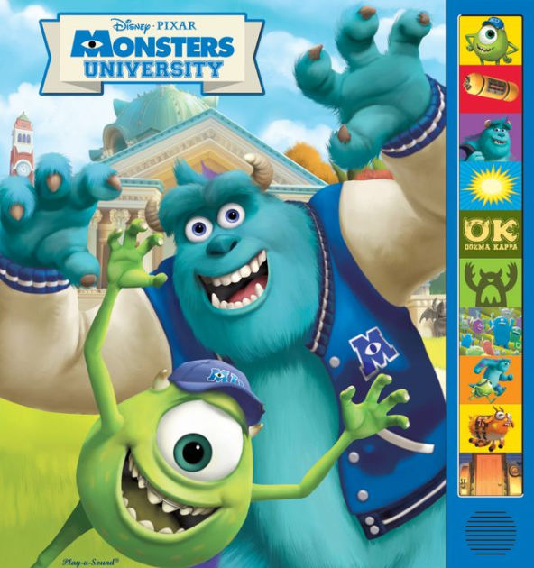 Disney Pixar Monsters University Play A Sound Book By