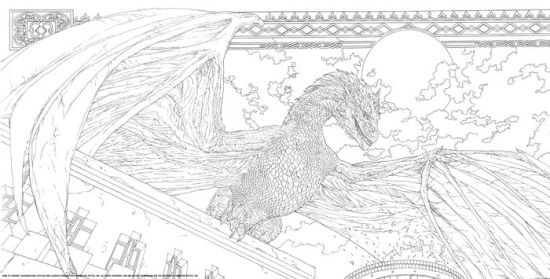 HBO's Game of Thrones Coloring Book by HBO, Paperback
