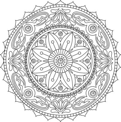 Mandala Meditation Coloring Book by Sterling Publishing Co