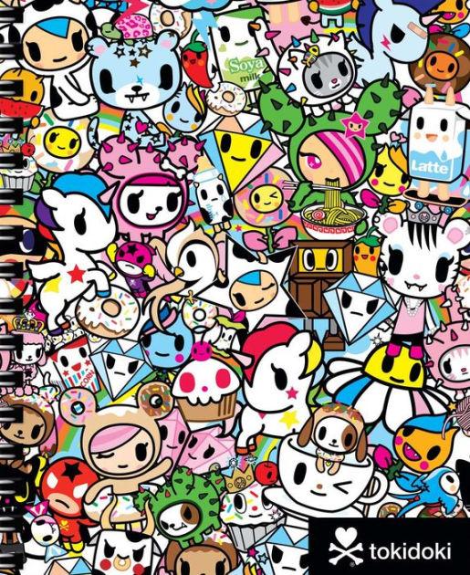 Cute Tokidoki Wallpaper Tokidoki Multi Characters Spiral Sketchbook By Tokidoki