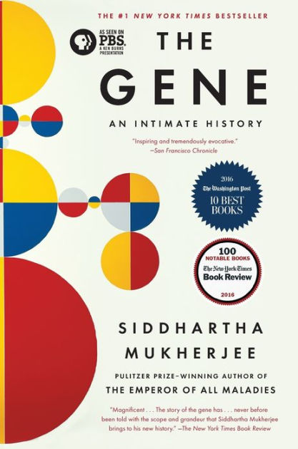 The Gene An Intimate History By Siddhartha Mukherjee Paperback