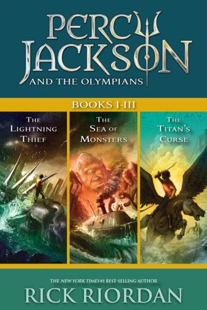 Percy Jackson 3 Film : percy, jackson, Percy, Jackson, Olympians:, Books, I-III:, Collecting, Lightning, Thief,, Monsters,, Titans', Curse, Riordan, (eBook), Barnes, Noble®