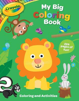 Crayola My Big Coloring Book By Buzzpop Paperback Barnes Noble