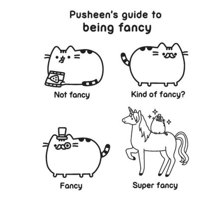 Pusheen Coloring Book by Claire Belton, Coloring Book