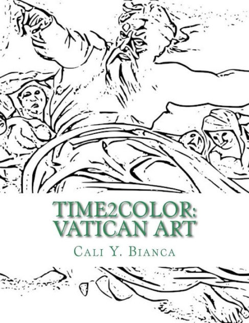 Time2Color: Vatican Art: Time2Color Adult Coloring Book