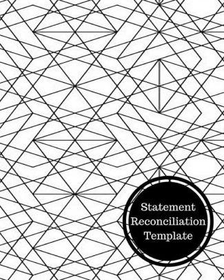 Statement Reconciliation Template: Bank Reconciliation