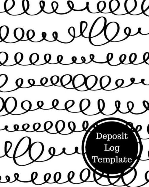 Deposit Log Template: Bank Transaction Register by